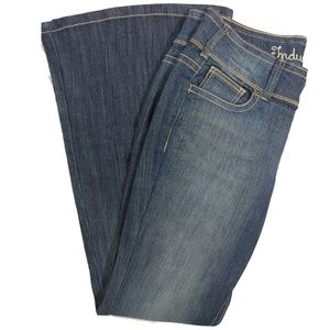 Industrial Cotton Jeans with Butterfly Pocket Sz9